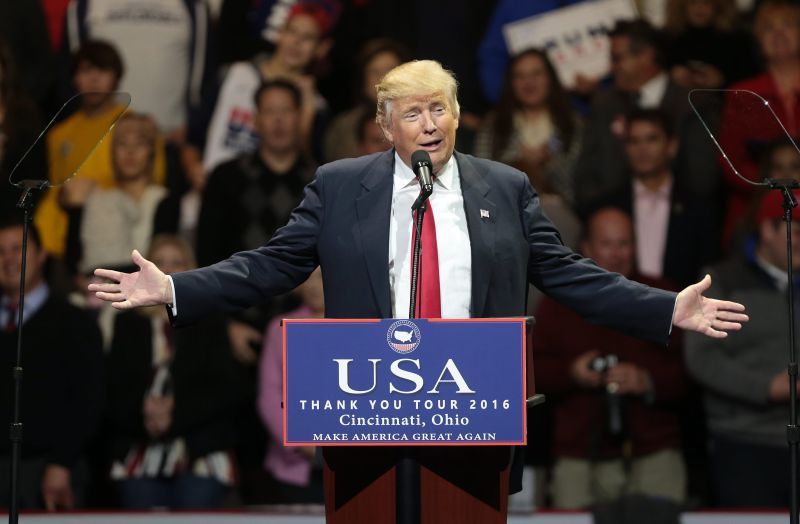 Donald Trump eleito presidente