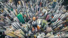 A selva urbana de Hong Kong