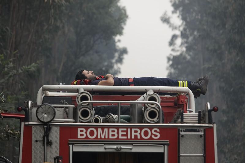 Resultado de imagem para Pedrógão Grande: Bombeiro foi a França buscar donativos para vítimas do incêndio