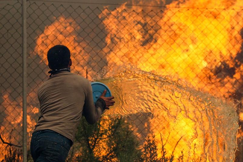Resultado de imagem para Chamas ameaçam aldeias em Arganil e progridem no sentido da Mata da Margaraça