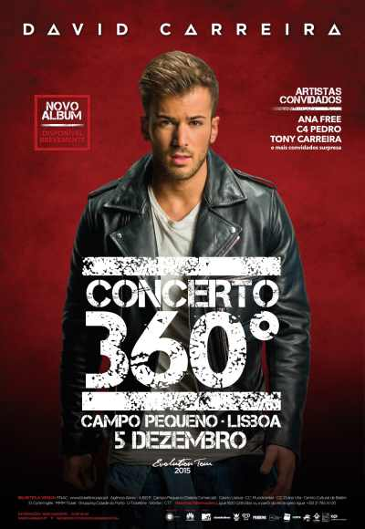 David Carreira - Evolution Tour 2015