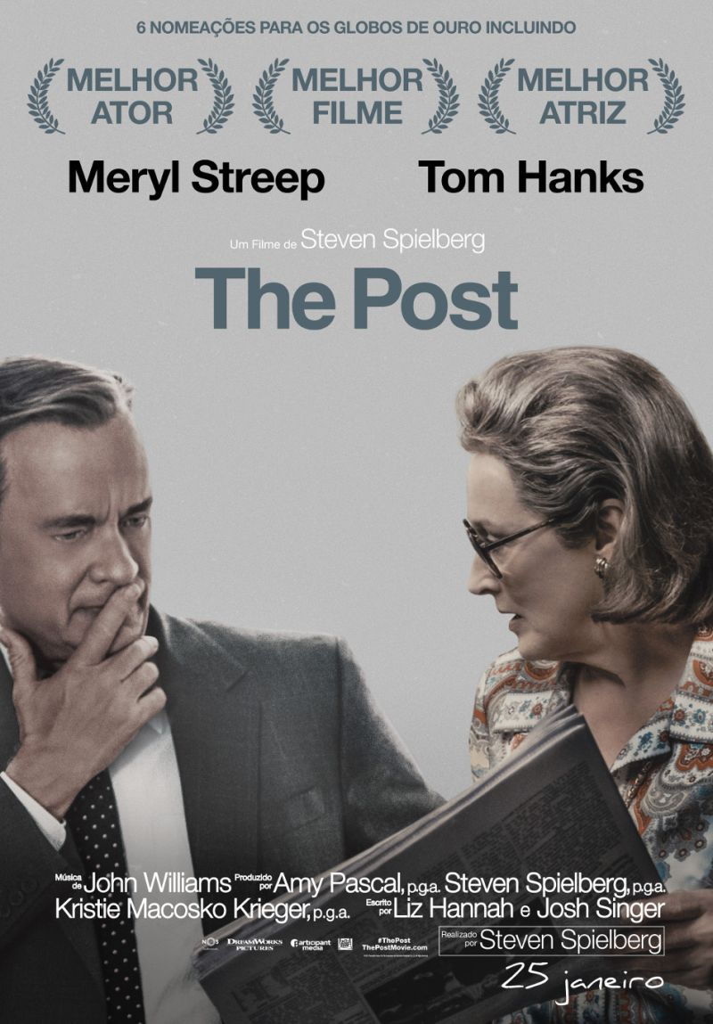 cartaz do filme the post