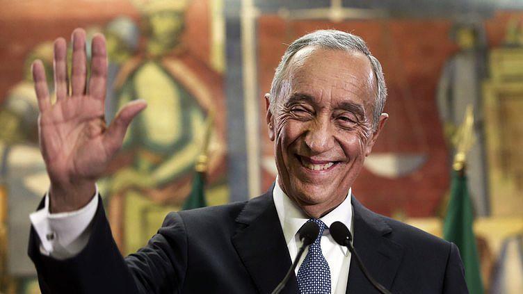 Marcelo eleito com 52,0% dos votos - mapa oficial CNE