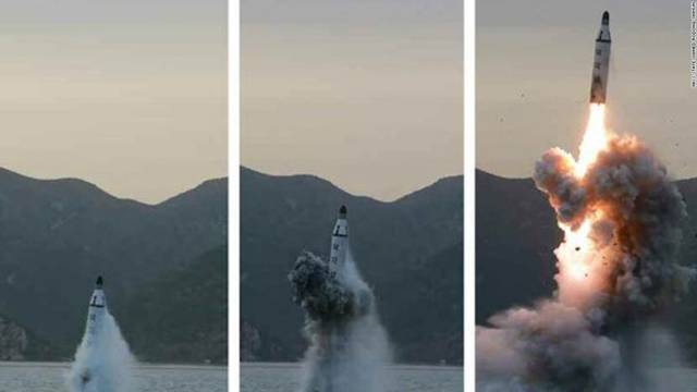 Sea launch follows threat over military exercise