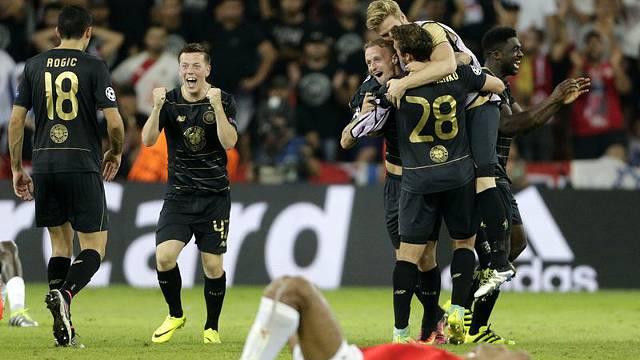 Celtic, Légia Varsóvia e Ludogorets apuram-se para a Champions