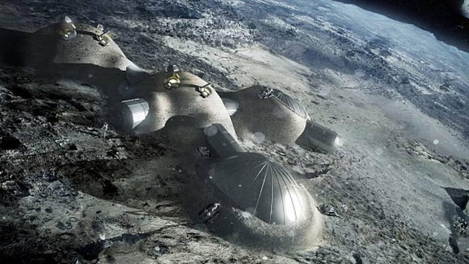 Uma aldeia na Lua? A ESA já deu os primeiros passos neste projecto