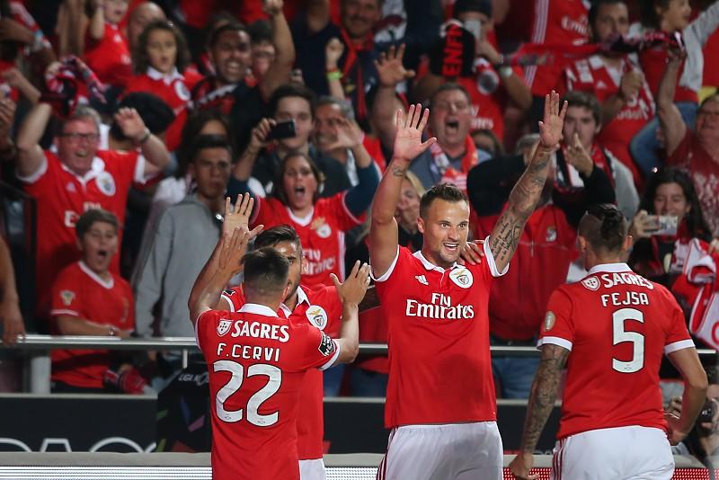 Resultado de imagem para Benfica vence Sporting de Braga na Luz