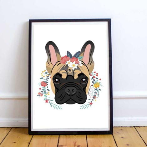 Frenchie | Art Print