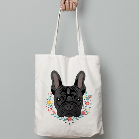 Frenchie Black | Totebag