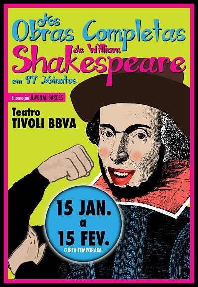 As Obras Completas De W. Shakespeare Em 97 Min.