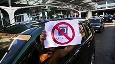Taxistas anunciam semana de luta contra a Uber