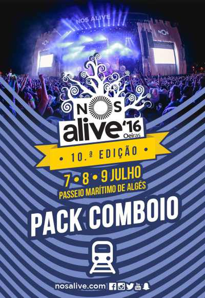 Nos Alive'16 - Pack Comboio