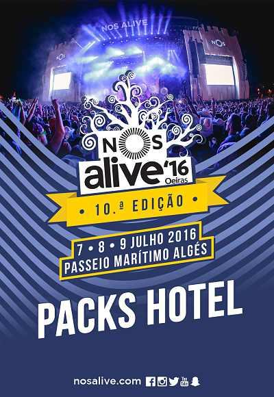 Nos Alive'16 - Pack Hotel