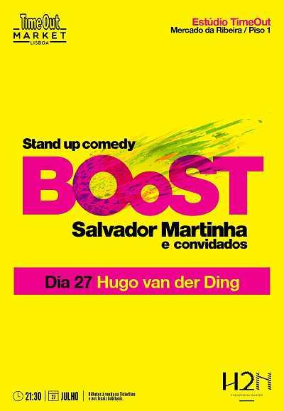 Boost -  Salvador Martinha - Hugo Van Der Ding