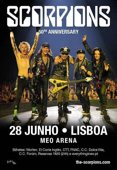 Scorpions - 50th Anniversary