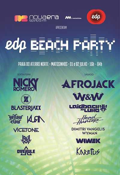 Edp Beach Party Nova Era Apresenta