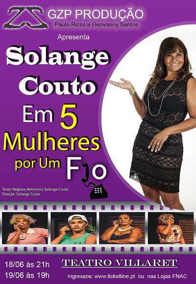 Solange Couto I 5 Mulheres Por Um Fio