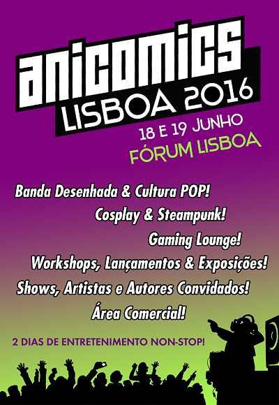 Anicomics Lisboa 2016
