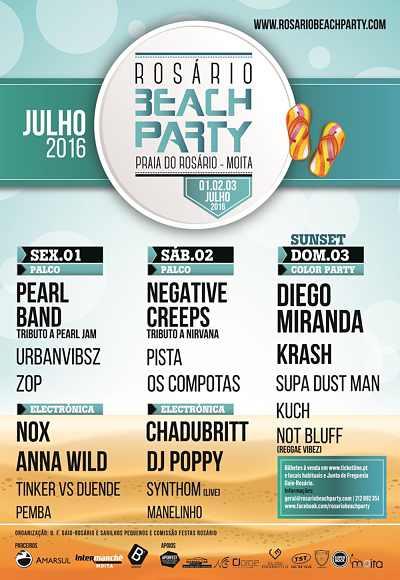 Rosário Beach Party 2016