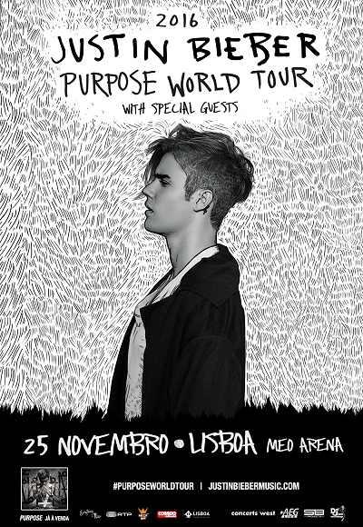 Justin Bieber - Purpose World Tour