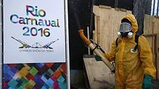 Brasil pulveriza sambódromo do Rio de Janeiro por causa do Zika