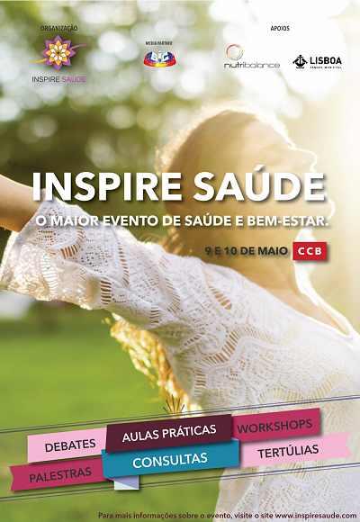 Inspire Saúde -  10 Maio  Bilhete Workshop