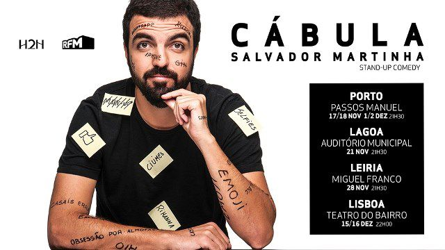 CÁBULA - SALVADOR MARTINHA