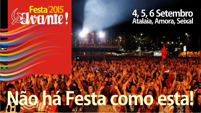FESTA DO AVANTE 2015