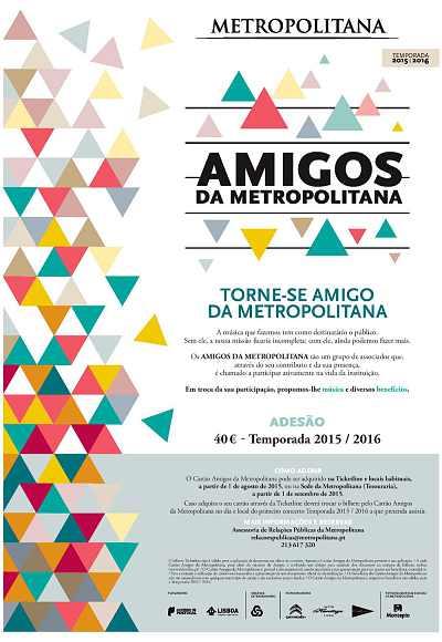 Amigos Da Metropolitana - Voucher - Cartão 2016/17