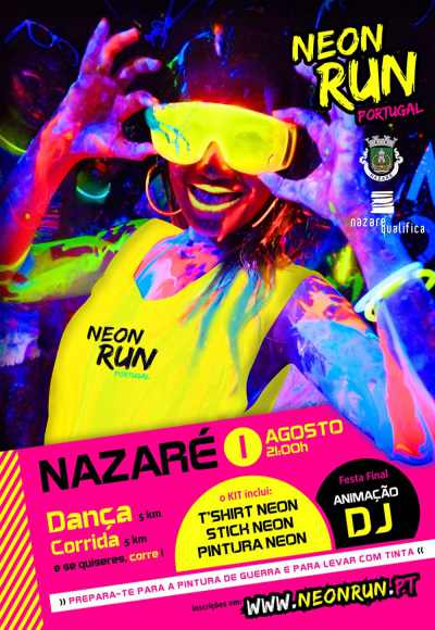 Neon Run I Nazaré