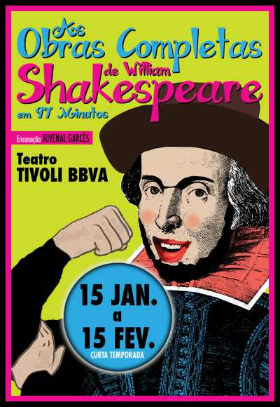 As Obras Completas De W. Shakespeare Em 97 Min.