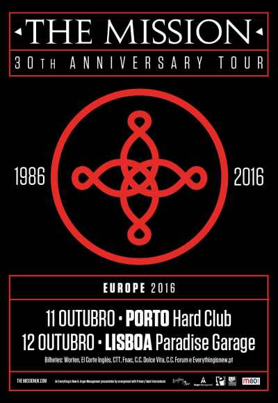 The Mission - 30th Aniversary Tour