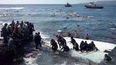 Nova tragédia. Resgatados 12 corpos do mar, oito são crianças