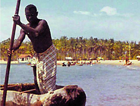 O barqueiro e a Kianda: Conto de Namibiano Ferreira