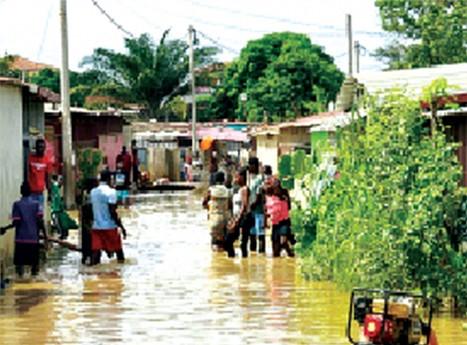 As últimas chuvas  confirmaram as debilidades da capital