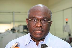Vice-ministro Mpinda Simão