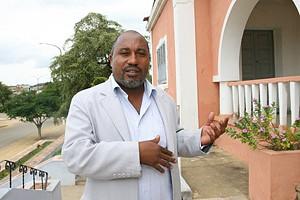 Administrador municipal adjunto do Golungo Alto quando falava ao Jornal de Angola