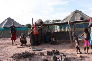 O abastecimento alimentar às populações de aldeias e comunas de difícil acesso é a grande preocupação das autoridades no Cuvelai