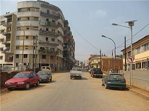 Um ângulo da cidade do Uíge capital da província com o mesmo nome onde estão a ser erguidas várias infraestruturas sociais
