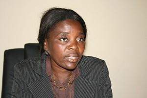 Administradora adjunta lsabel Ndesihafela