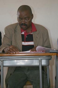 Administrador municipal de Samba-Cajú