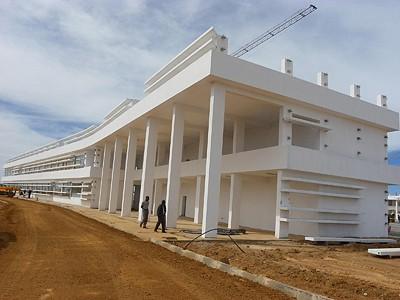 As novas estruturas arquitectónicas enchem de orgulho os habitantes do Lubango