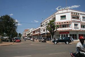 Prédio Cuca no centro da cidade
