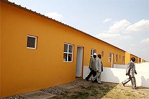 Mais de quatro dezenas de residências estão concluídas desde Maio