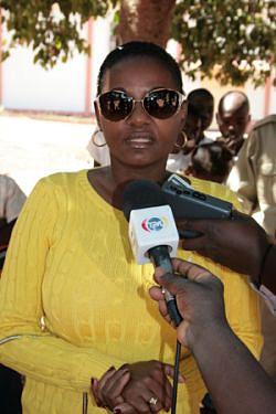 Administradora municipal de Malange