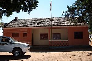 Edifício da administração comunal onde são traçadas estratégias para a melhoria do nível de vida da população da comuna e arredores