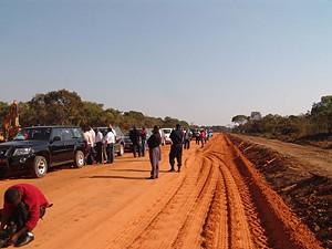 A caravana tem como principal motivo mostrar ao mundo as potencialidades turísticas angolanas e as grandes obras de reconstrução