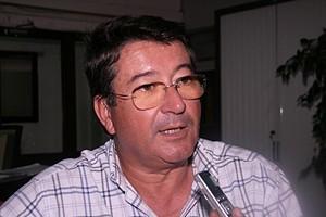 Pedro Cristina, da organização do raid