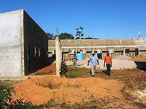 As autoridades investiram em força na reabilitação de velhas infra-estruturas sociais e construção de novas
