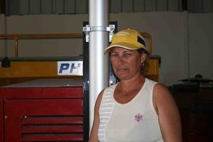 Engenheira agrónoma Amada Carmenates